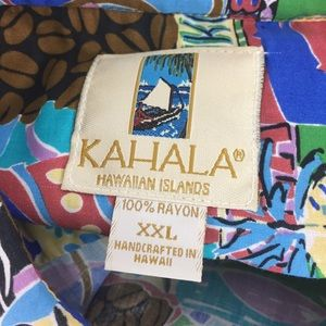 Kahala Shirts - KAHALA | HP!!! Hawaiian shirt coffee themed Xxl